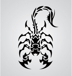 Tribal scorpions vector