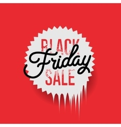 Black friday sale design vector