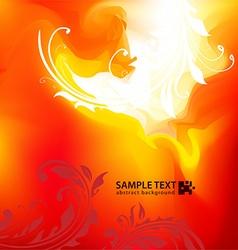 Fire Design vector image