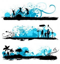 lifestyle design vector image