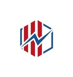 Lightning electricity logo vector