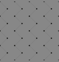 Seamless pattern with dots and lines vector