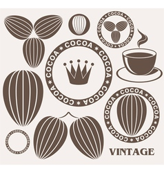 Cocoa vector image