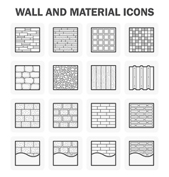 Wall icon vector image