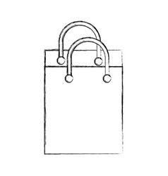 shopping bag isolated icon vector image