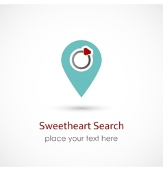 Sweetheart Search vector image vector image