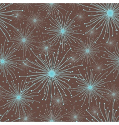 abstract stars pattern vector image