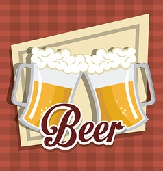 Beer digital design vector