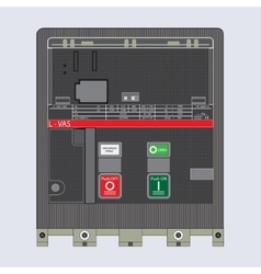 Automatic switches breaker vector