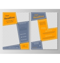 Business brochure or cover vector