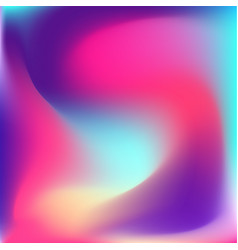 Colorful vibrand bright gradient background vector