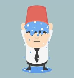 Ice bucket Challenge Business Fat vector image