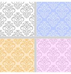 Summer seamless ethnic pattern vector image