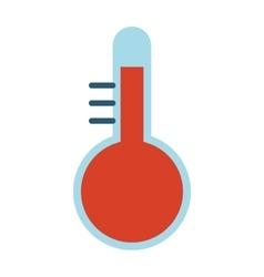 Thermometer temperature vector image