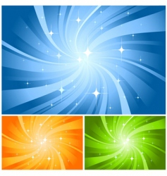 lighting background vector image