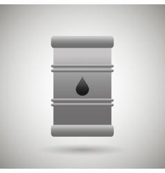 Barrel oil design vector