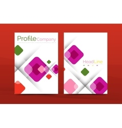 Geometric abstract background business company vector