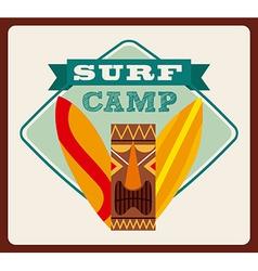 Surfing design vector