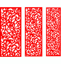 wedding red screen vector image