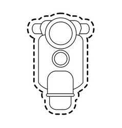 Scooter motorbike icon image vector