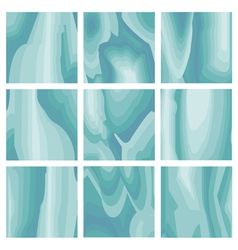 Inside ice background vector image
