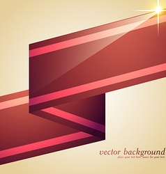 shiny stripes vector image vector image