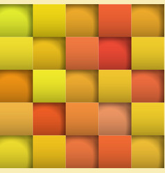 Abstract background paper squares vector