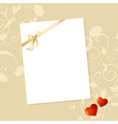 Letter valentine vector