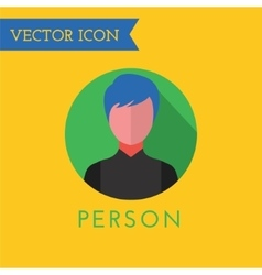 Men icon icon sound tools or dj and note vector