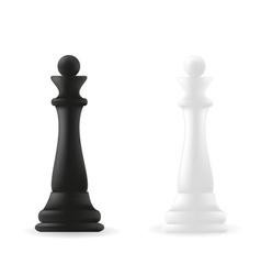 Queen chess piece vector