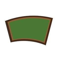 chalkboard classroom isolated icon design vector image