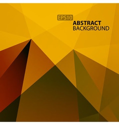 Abstract Warm Geometric Background for your design vector image