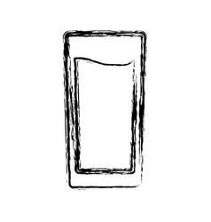 Glass icon image vector
