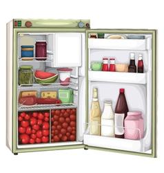 Refrigerator vector