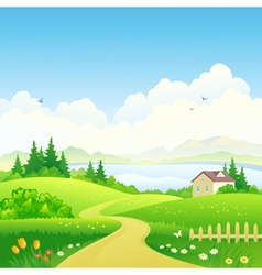 Rural path vector