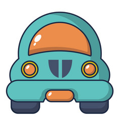 Toy car icon cartoon style vector