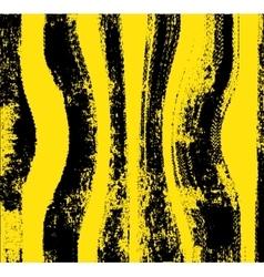 Black yellow grunge background vector image