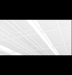 Abstract line construction industrial vector