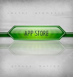 App Store Buttons vector image