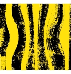 Black yellow grunge background vector image vector image