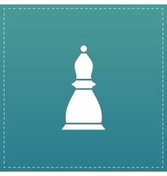 Chess officer icon vector image vector image