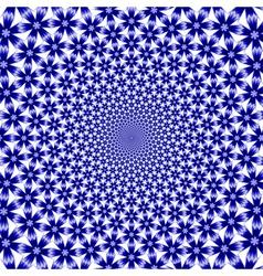 Design cornflower twirl movement background vector
