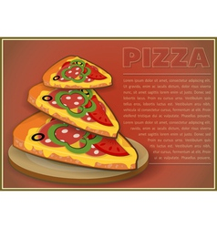 Pizza Slices vector image