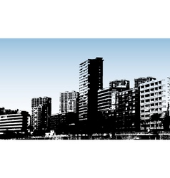 benidorm design vector image