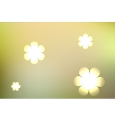 Abstract blurred yellow background vector
