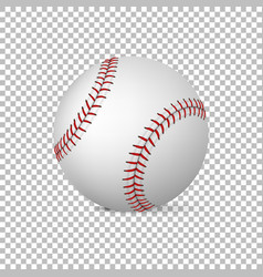 Realistic baseball isolated design vector