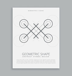 Abstract mystic signs vector