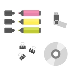Office equipment vector