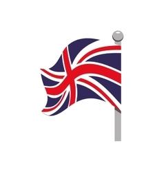 Flag icon united kingdom design graphic vector