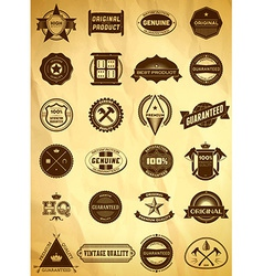 Big set of vintage labels vector